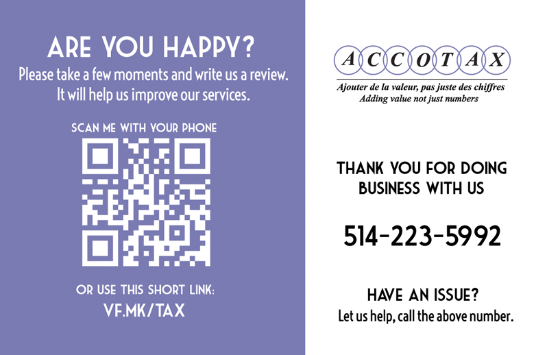 Review Card Sample
